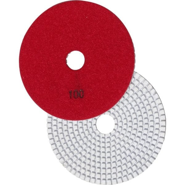 5 inch Diamond Polishing Pads for Concrete Countertops ( 100 Grit )