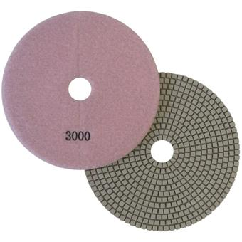 7 inch Wet Polishing Pad for concrete countertops 3000 Grit