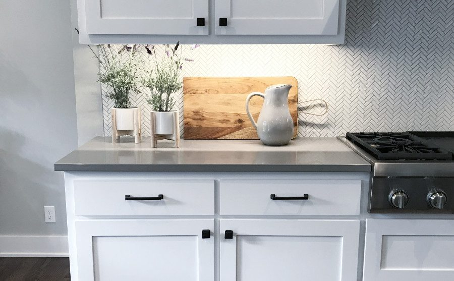 Learn how to build a DIY Concrete Countertop
